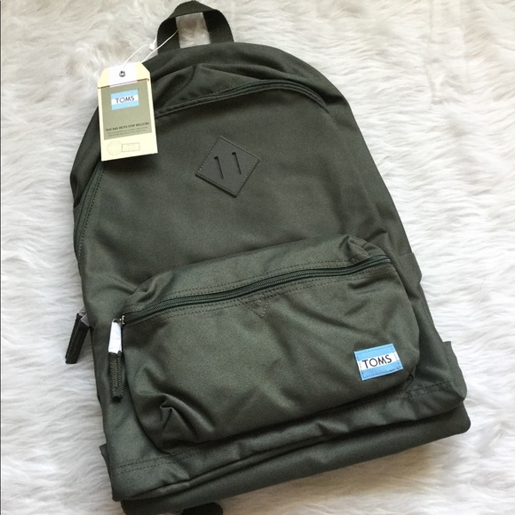 e6fb377e49 NWT TOMS Olive Local Backpack. Listing Price: $29.00
